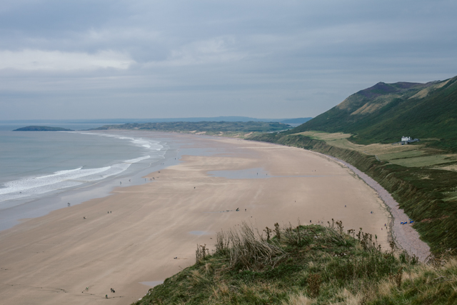 Rhossili Bay - The cat, you and us