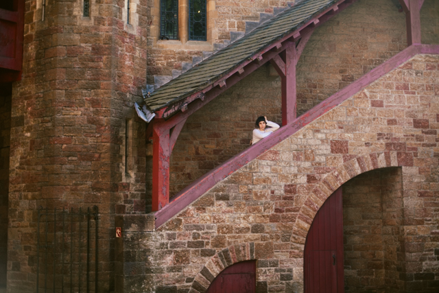 Castell Coch - The cat, you and us