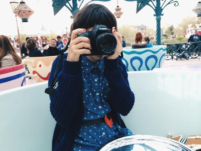 Disneyland Paris - The cat, you and us