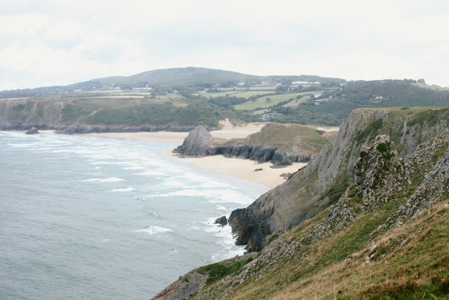 Three Cliffs Bay - The cat, you and us
