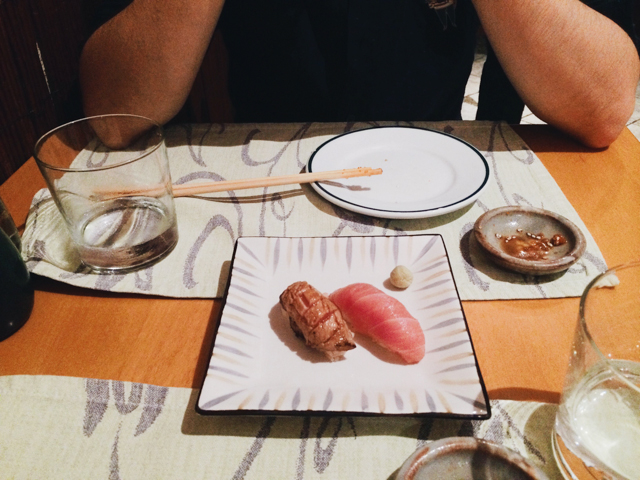 Toro and Toro tataki at Shunka - The cat, you and us