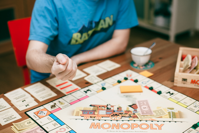 Monopoly - The cat, you and us