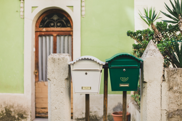 Barcelona mail boxes - The cat, you and us