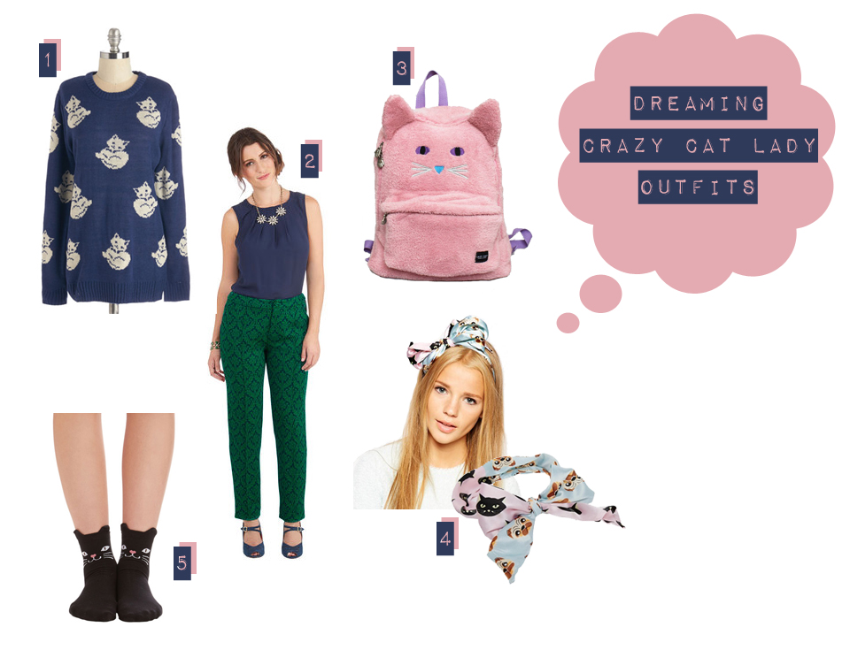 dreaming crazy cat lady outfits - The cat, you and us