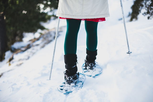 Snowshoes at Vall de Nuria - The cat, you and us