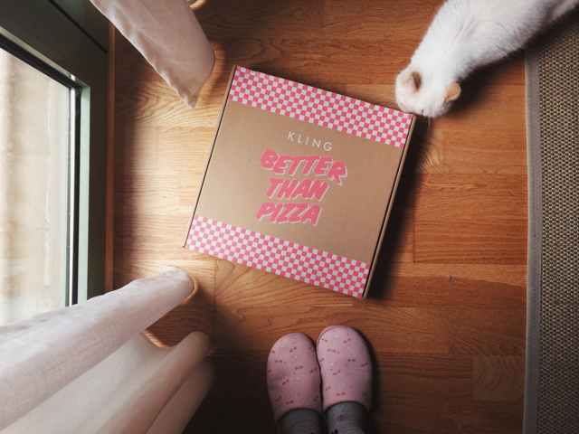 Better than pizza - The cat, you and us