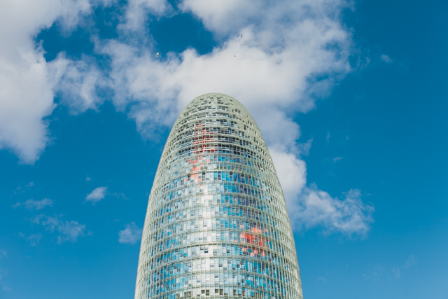 Torre Agbar - The cat, you and us