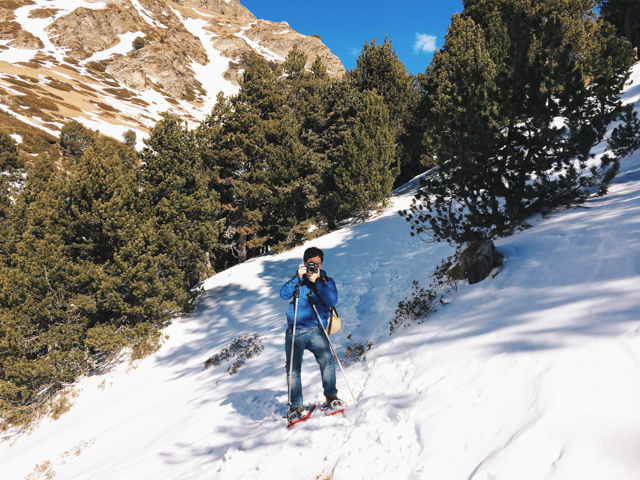 Vall de Nuria - The cat, you and us
