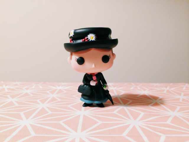 Mary Poppins Funko pop - The cat, you and us