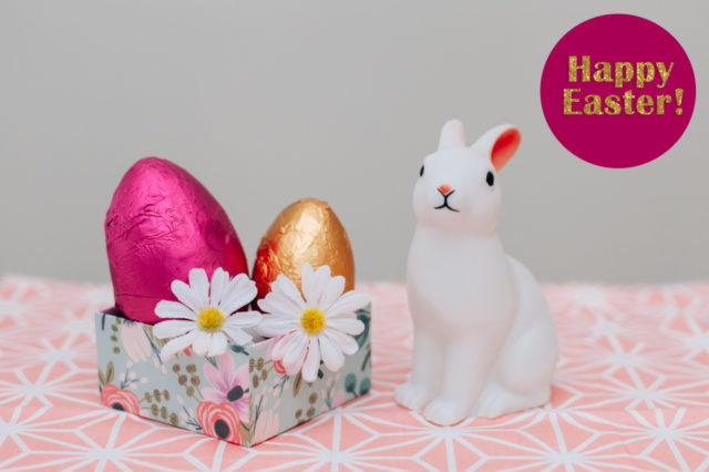Happy Easter - The cat, you and us