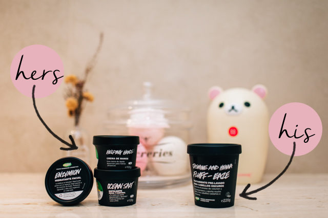 Guys also buy at Lush - The cat, you and us