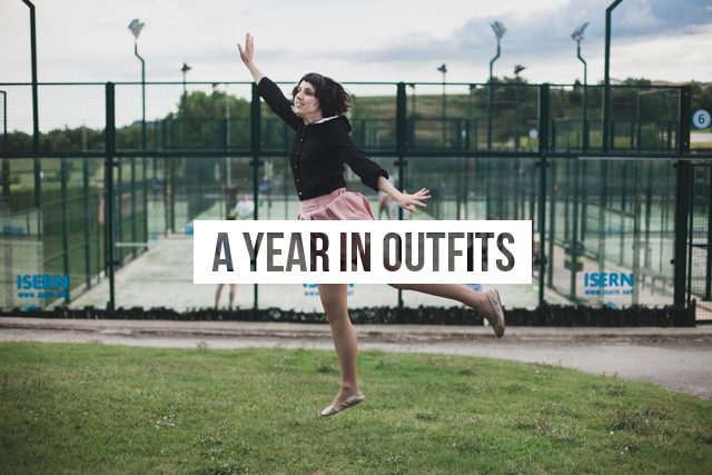 A year in outfits - The cat, you and us