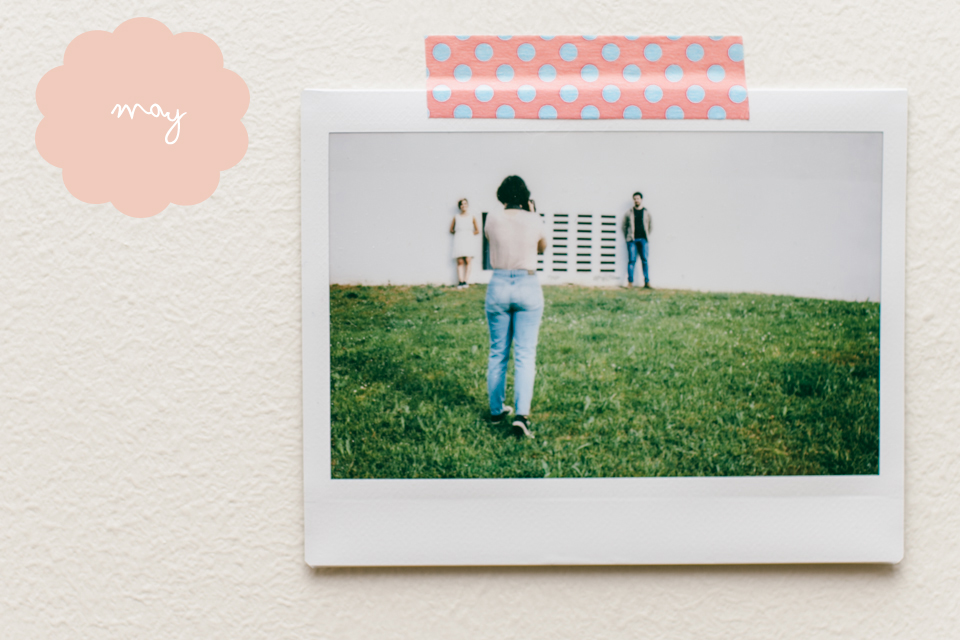 Instax challenge - The cat, you and us