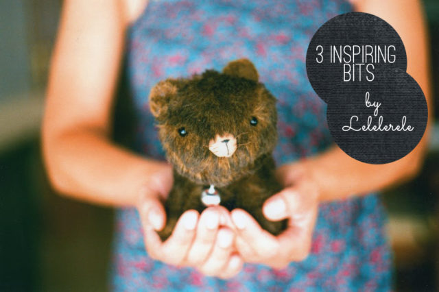 3 inspiring bits by Lelelerele - The cat, you and us