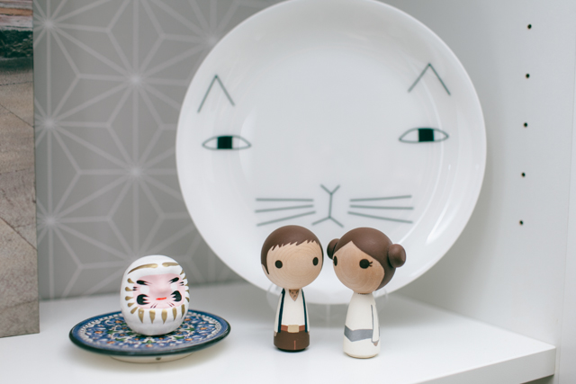 Han Solo & Leia wedding toppers - The cat, you and us
