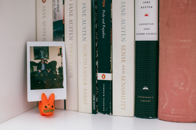 Jane Austen & Instax mini - The cat, you and us