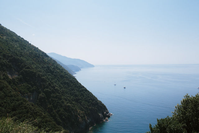 Vernazza trail - The cat, you and us