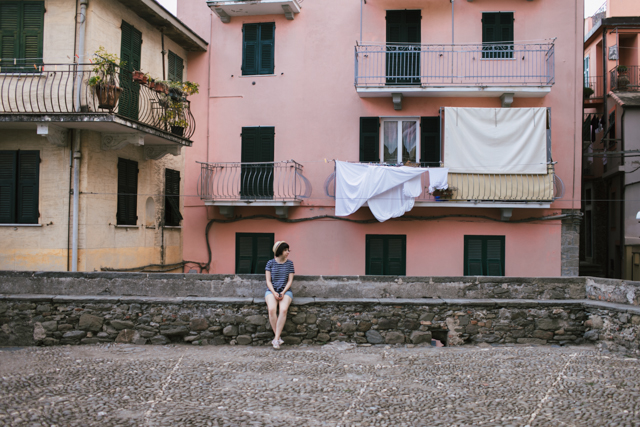Corniglia - The cat, you and us
