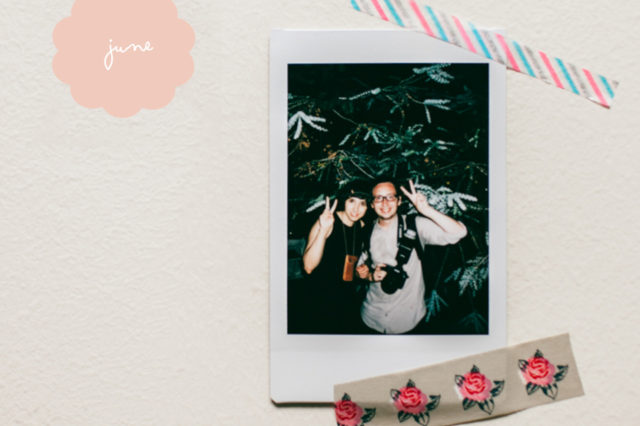 Instax Challenge June - The cat, you and us