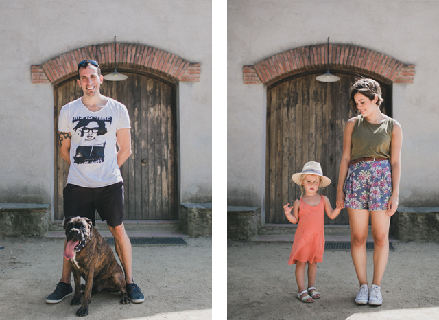 family portraits - The cat, you and us