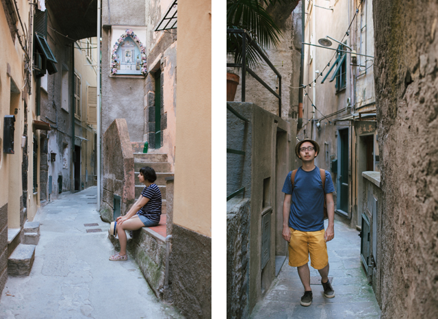 Vernazza - The cat, you and us