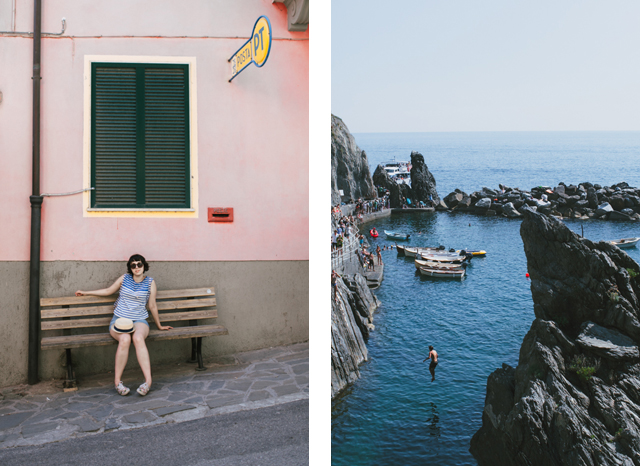 Manarola - The cat, you and us