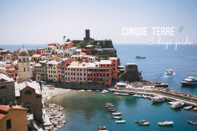 Cinque Terre guide - The cat, you and us