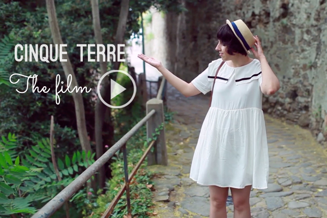 Cinque Terre the film - The cat, you and us