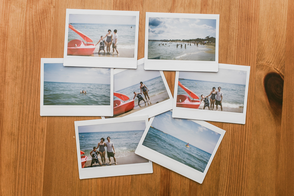 Instax Challenge August - The cat, you and us