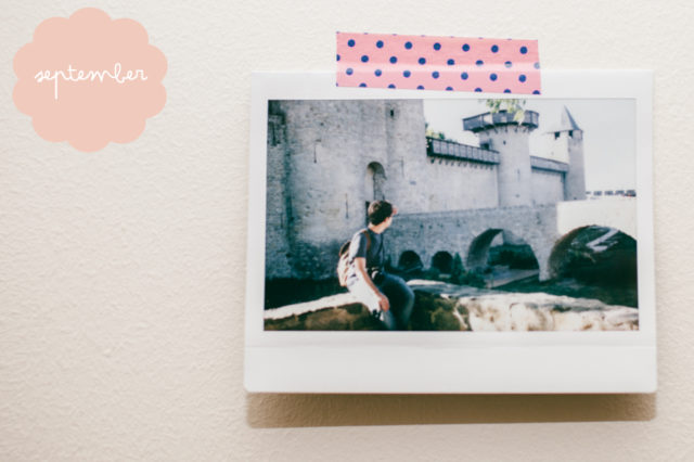 Instax Challenge September - The cat, you and us