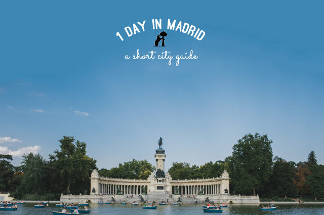 Madrid 1 day guide - The cat, you and us