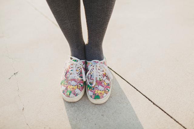 Hello Kitty Vans - The cat, you and us