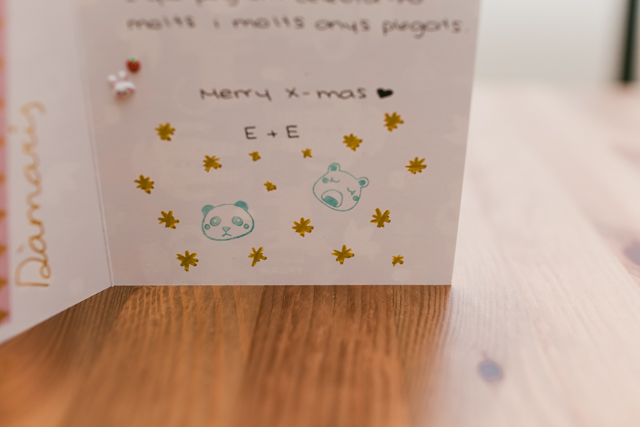 Christmas cards - The cat, you and us