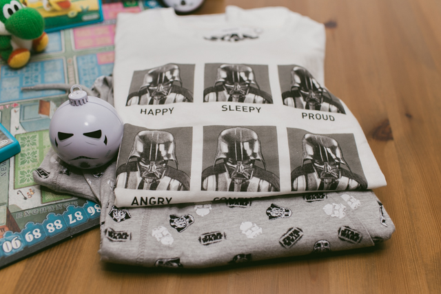 Darth Vader PJs - The cat, you and us