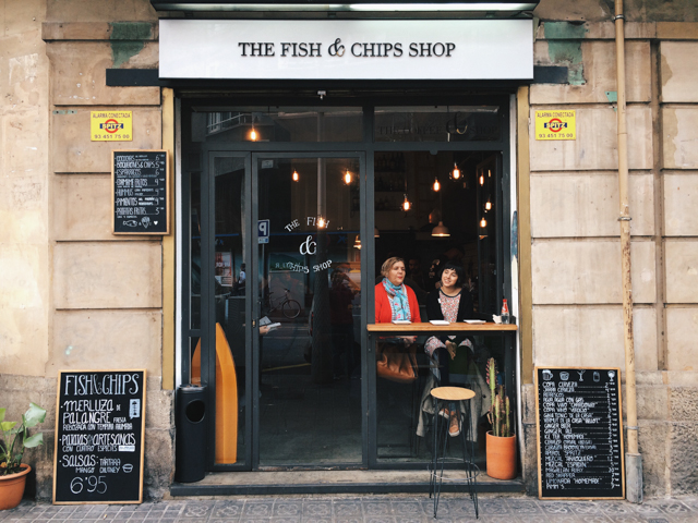 Fish and Chips shop - The cat, you and us