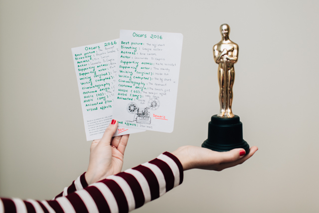 Oscars 2016 - The cat, you and us