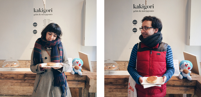 Kakigori's dorayaki - The cat, you and us