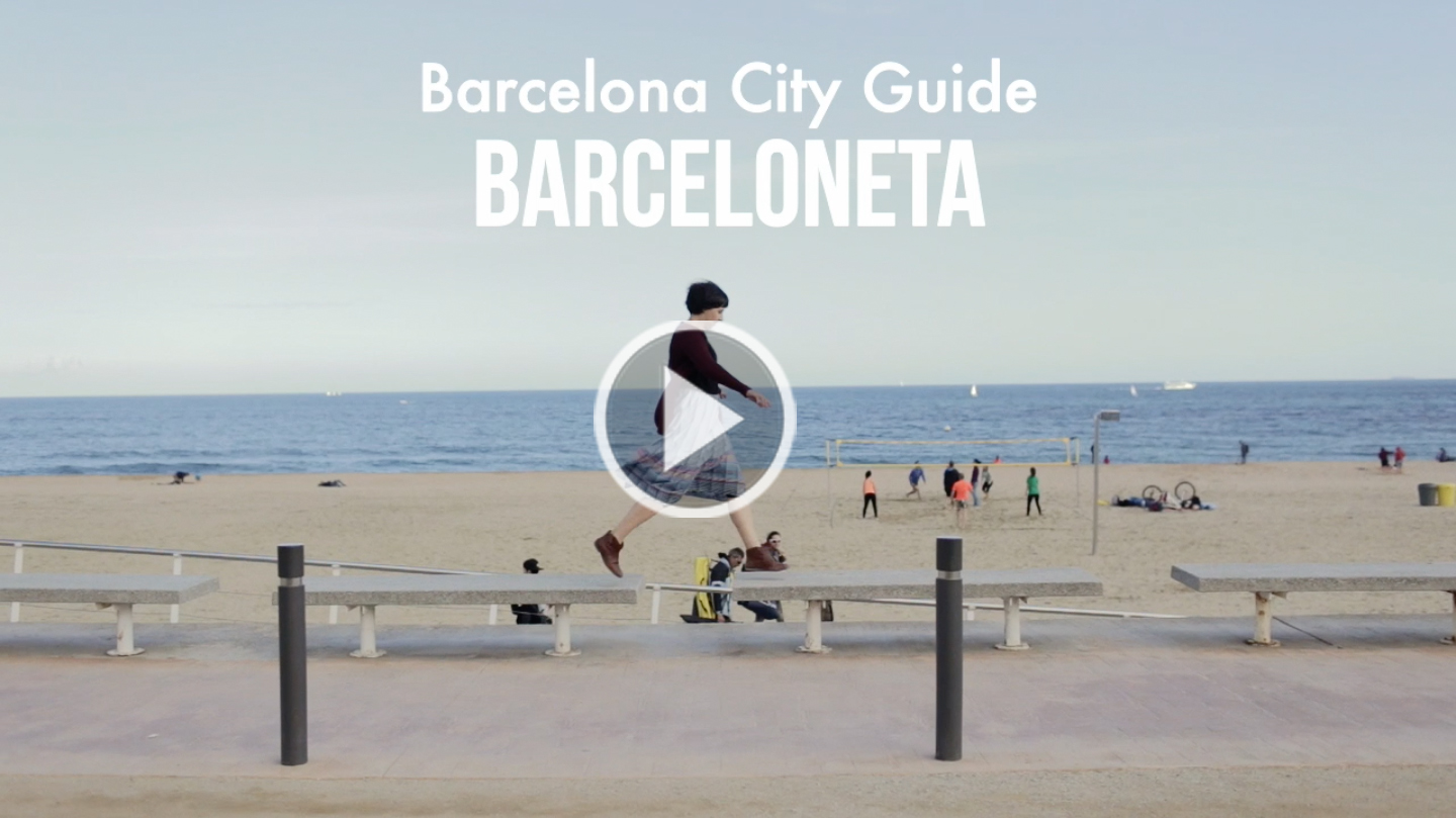 Barceloneta / Barcelona City Guide - The cat, you and us