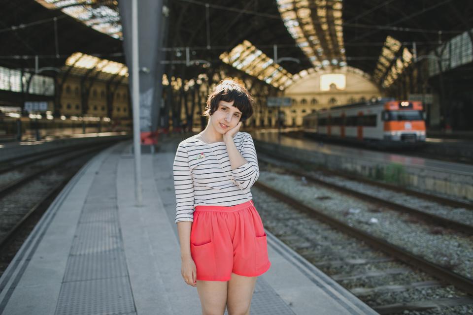 Estació de França - The cat, you and us