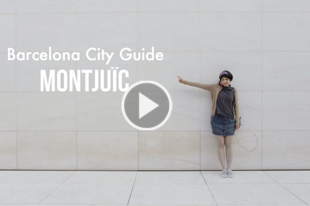 Montjuïc Barcelona City Guide - The cat, you and us