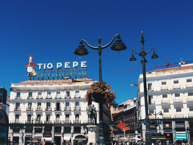 Tio Pepe Madrid - The cat, you and us