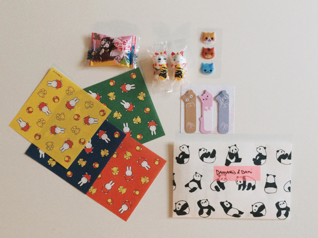 Japanese goodies - The cat, you and us