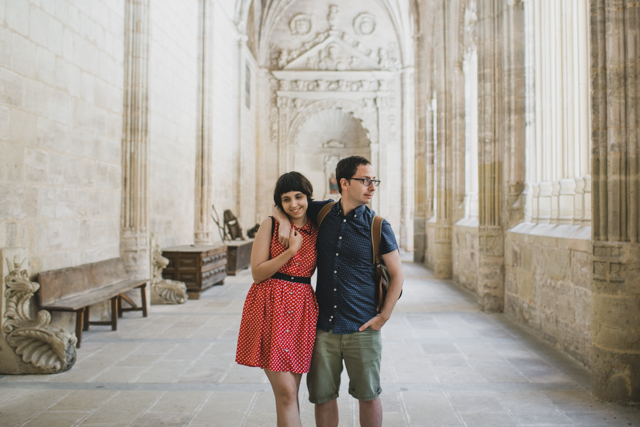 Catedral de Segovia - The cat, you and us