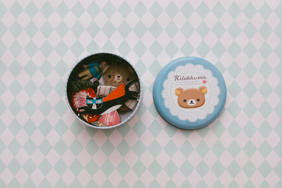 Rilakkuma Jewlery box - The cat, you and us