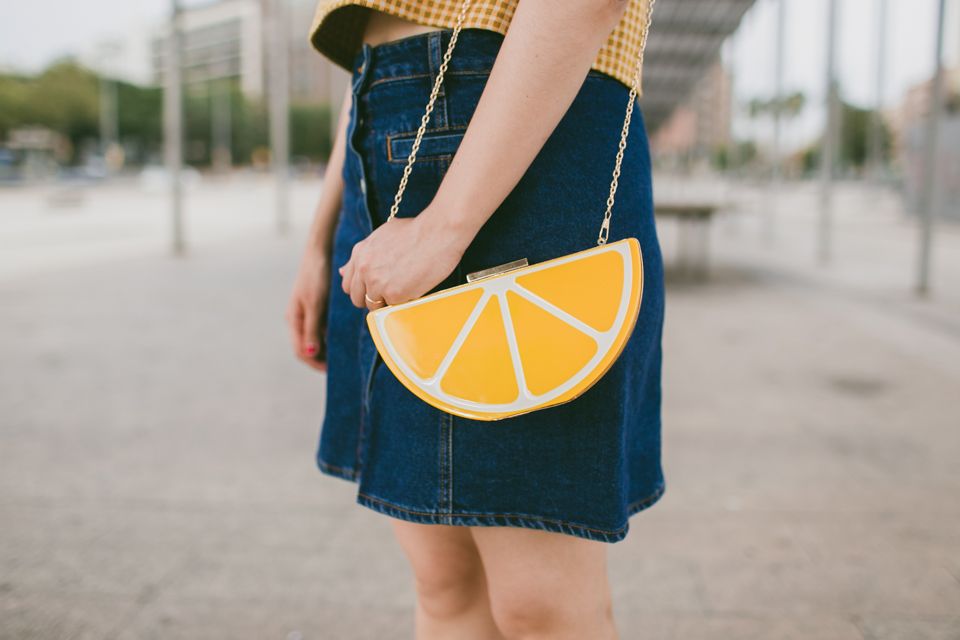 Lemon purse from Kling - The cat, you and us