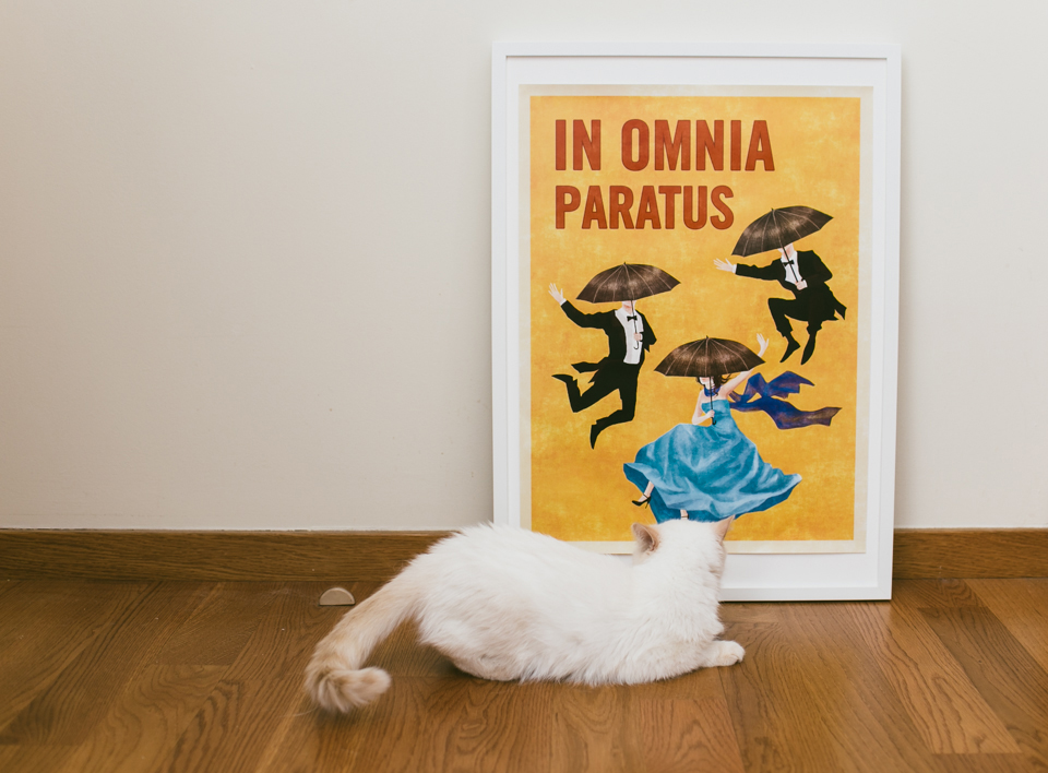 In Omnia Paratus Gilmore Girls - The cat, you and us