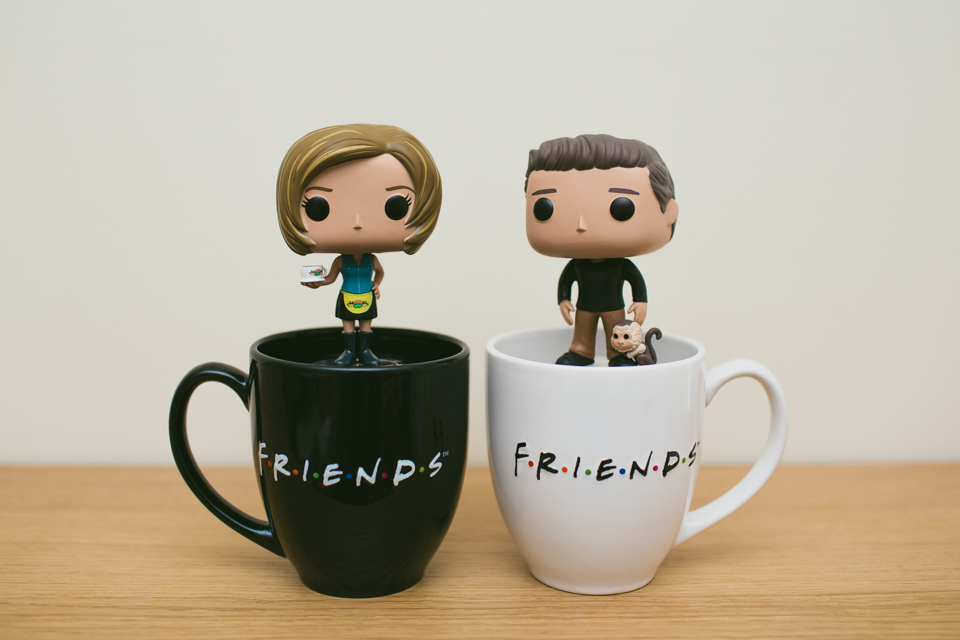 Friends Funko Pop - The cat, you and us
