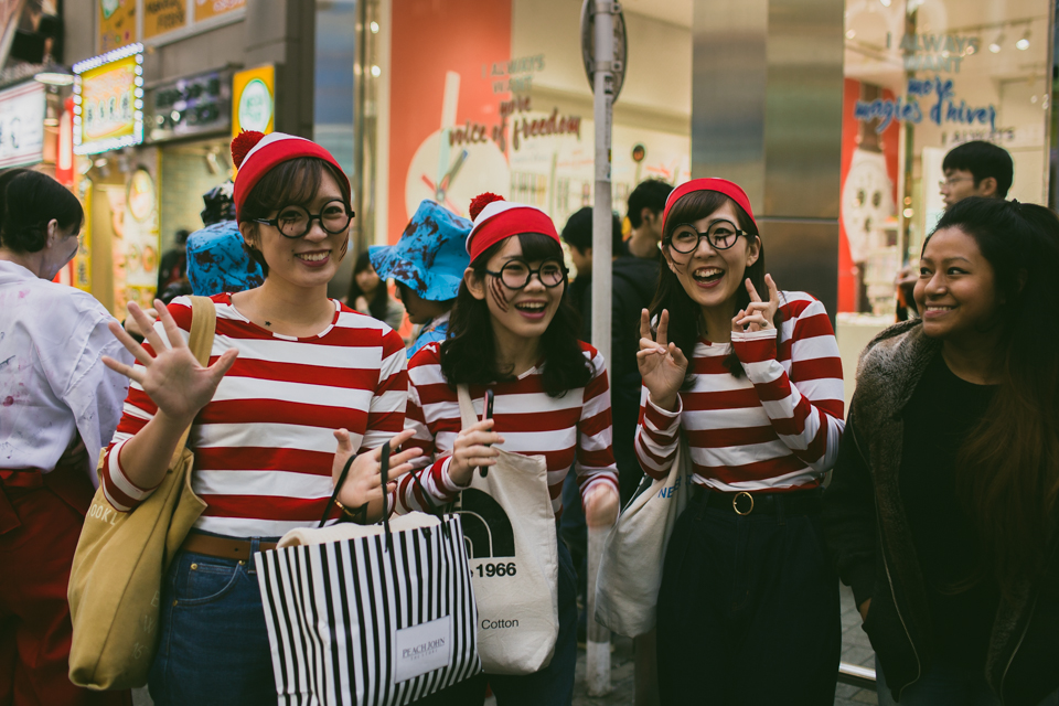 Shibuya Halloween 2016 - The cat, you and us