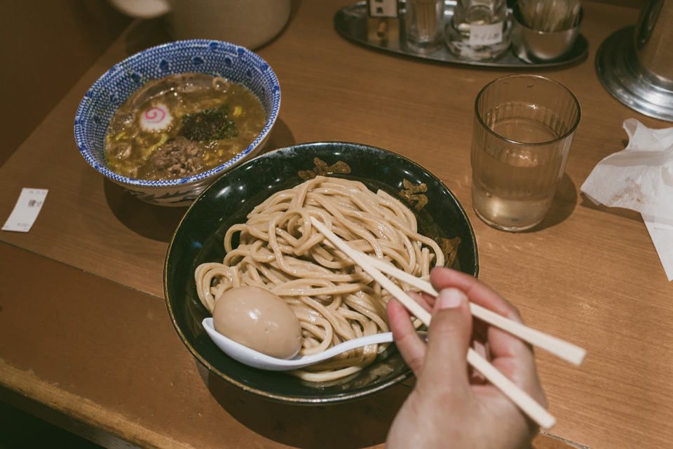 Rokurinsha Tsukemen - The cat, you and us