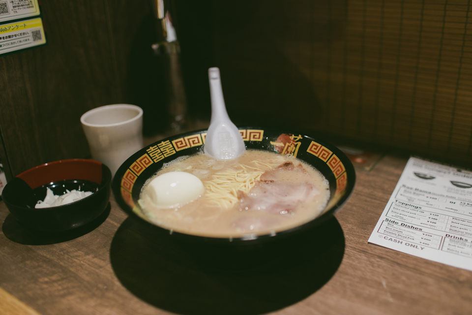 Ichiran Ramen Shinjuku - The cat, you and us
